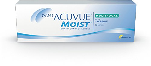 Acuvue 1-Day Moist Multifocal Tageslinsen weich, 30 Stück / BC 8.4 mm / DIA 14.30 / ADD MED / -2.5 diopters