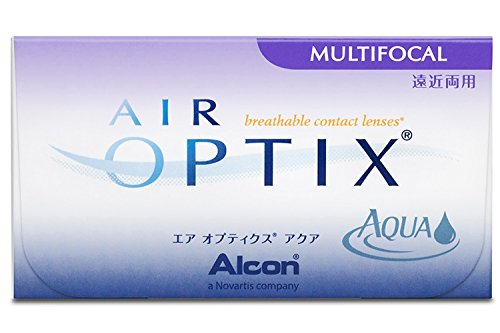 Air Optix Aqua Multifocal Monatslinsen weich, 3 Stück / BC 8.6 mm / DIA 14.2 mm / ADD MED / -1.5 Dioptrien