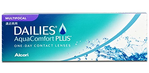 Dailies AquaComfort Plus Multifocal Tageslinsen weich, 30 Stück / BC 8.7 mm / DIA 14 / ADD MED / -8.25 Dioptrien