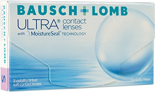 Bausch + Lomb Ultra Contact lenses with Moisture Seal technology Monatslinsen weich, 3 Stück / BC 8.5 mm / DIA 14.2 mm / -2 Dioptrien